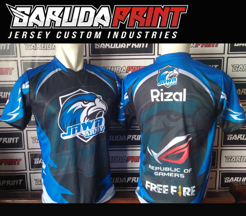 jersey gaming custom